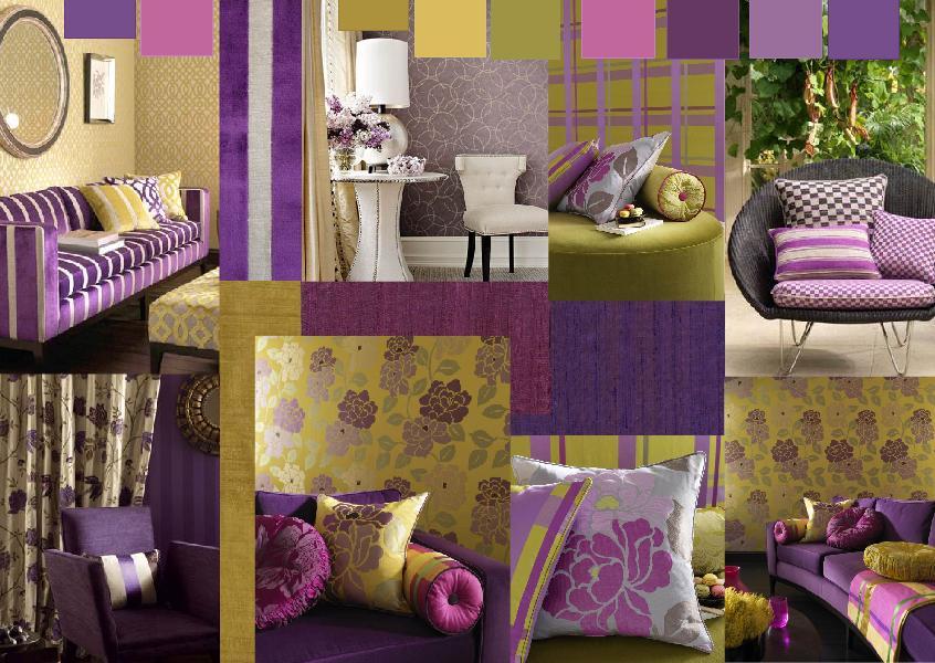 rustic bedroom design purple color scheme   Interior Design   Creating a purple color scheme   The ...