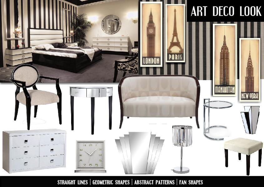 decor and design 9 art deco style emerald interiors blog Art Deco Design | How to Create a Jazzy Art Deco Bedroom in 6 Easy Steps |  The Official Blog of SampleBoard.com