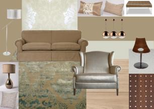 create a living room moodboard on SampleBoard.com