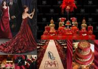 board-screen Dramatic Bold Red Wedding