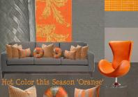board-screen Hot Orange Interior Design
