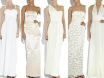 board-screen Column Wedding Dress