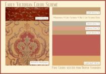 board-screen Early Victorian Color Scheme