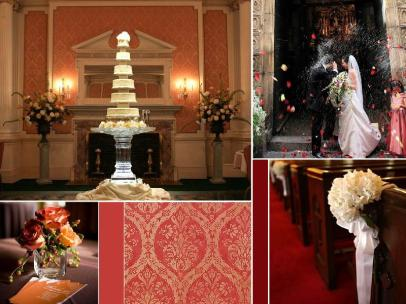 board-screen Formal Wedding scene