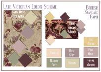 board-screen Late Victorian Color Scheme