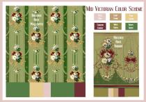 board-screen Mid Victorian Color Scheme
