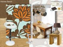 board-screen Kitchen Wallpaper
