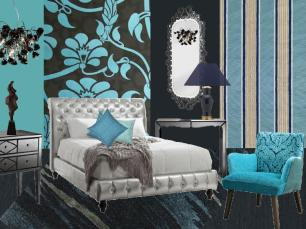 board-screen Trendy bedroom