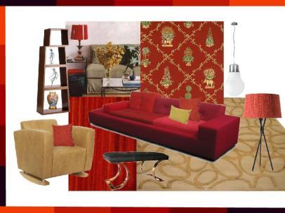 board-screen Quirky Interior Design