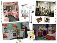 board-screen 1940s interior design