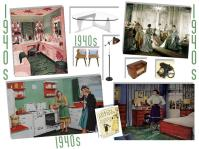 board-screen 1940s interior design