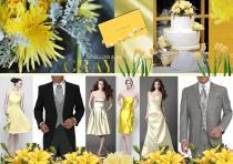 board-screen Yellow and grey wedding 2