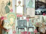 board-screenVintage Wedding Mint green and pink