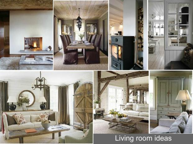 contemporary country interior design mood board