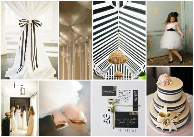 modern wedding inspiration board