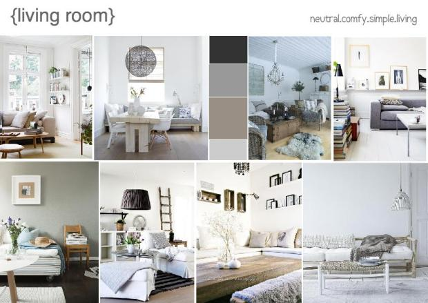 Living room the official blog of for Room design mood board