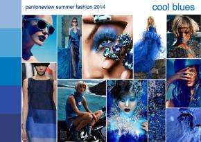 summer 2014 fashion trend mood board cool blues